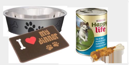 Eten en drinken voor je hond